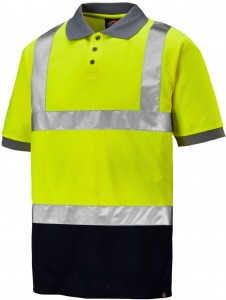 POLO DICKIES TWO TONE HI-VIS